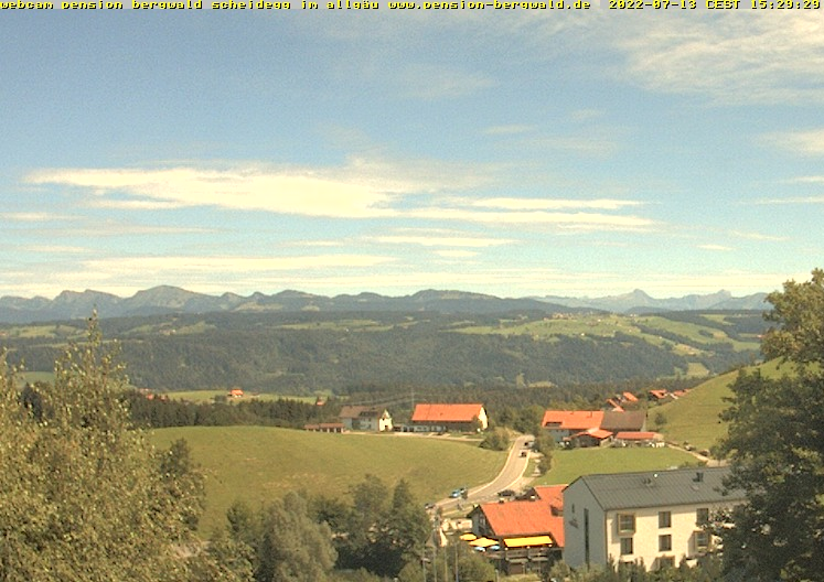 Webcam: Pension Bergwald